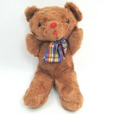 Vintage Eden Wind Up Bear Musical Plush Stuffed Animal Plays Teddy Bear's Picnic