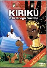 KIRIKU' E LA STREGA KARABA' - DVD NUOVO E SIGILLATO, PRIMA STAMPA UNICA E RARA!