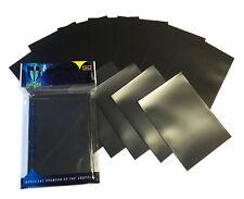 1000 BLACK DOUBLE MATTE DECK PROTECTORS SLEEVES MTG Standard Max Pro Deck
