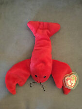 "Ty Beanie Babie 'Pinchers"" VERY RARE NEW MWMT PVC Collectors Item Tag Rarities"
