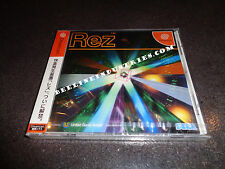 rez (sega dreamcast, 2001) brand new, factory sealed tetsuya mizuguchi dc