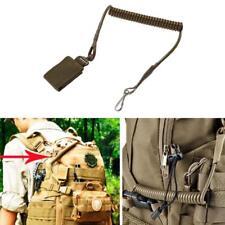 Pistola táctica Cordón Sling Elástico Cuerda de retención de resorte pistola seguro Cabestrillo