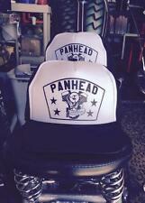 PANHEAD TRUCKER HAT! harley davidson chopper knucklehead vtg hardtail springer