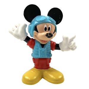 "Disney Mickey Mouse Clubhouse Mickey Pilot 2.75"" Tall Action Figure Mattel"