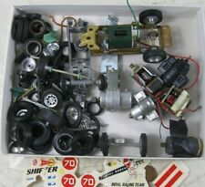 Lot of Vintage Slot Car Parts Engines Stormbecker and Others