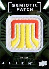 Alien Movie, Upper Deck, Semiotic Standards Patch Card SP14 Exhaust