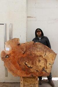 Figured Live Edge Custom Coffee Tabletop Natural Big Leaf Maple Wood Slab 6348s2