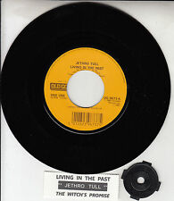 """JETHRO TULL Living In The Past & The Witch's Promise 7"""" 45 rpm vinyl record NEW"""