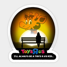 RIP Toys R Us Kid Children Toy Remembrance Vinyl Wall Decal Room Decor Sticker