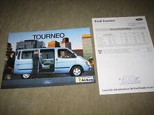 FORD TRANSIT TOURNEO prospetto brochure di 7/1994, 24 PAGINE + LISTINO PREZZI