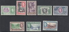 British Honduras 1938 part set MH