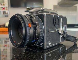 Hasselblad 503CW CameraBody, A12 Film Back, 80mm 2.8 Lens, Acute Matte Screen