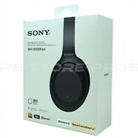 Sony WH-1000XM3 Wireless Noise-Canceling Headphones Bluetooth Open Box - Black