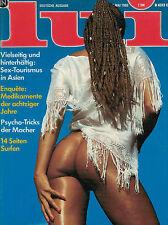 Lui 5,05/1980 Mai, Cathy, Jango Edwards, Anna Bennent, Malcolm Lowry,..