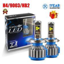 2X H4 9003 HB2 led Headlight Bulb Conversion Kit Hi Lo Beam 80W 8000LM 6000k