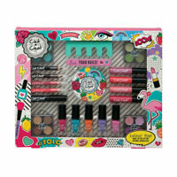 21 Piece Technic Chit Chat Girls Make Up Gift  Set Nails Lips Eyes 999405-T46