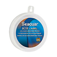 Seaguar Blue Label Fluorocarbon Leader Fishing Line 25 Yards Select Lb. Test