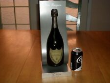 Liquor Store Factory Display Prop - Cuvee Dom Perignon Bottle & Stand Prop Sign