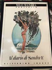 "Milo Manara Portfolio ""IL DIARIO DI SANDRA F. 453/600"