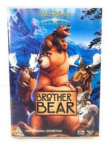Brother Bear (DVD, 2003) Jeremy Suarez Region 4 Free Postage