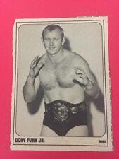 1978 Wrestling Annual DORY FUNK JR. Pro NWA Professional Wrestling Trading Card