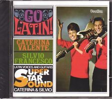 CATERINA VALENTE & SILVIO – Go Latin!/Latin Voices And Guitars (Vocalion, UK)