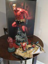 Hellboy Premium Format Figure STATUE  Sideshow Collectibles EXCLUSIVE