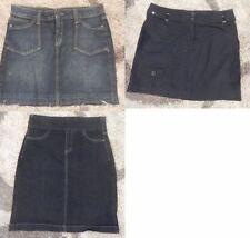 Unbranded Denim Machine Washable Skirts for Women