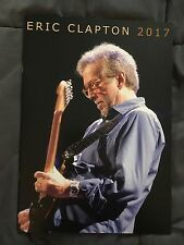 ERIC CLAPTON TOUR BOOK PROGRAM MSG NYC MARCH 2017 50 YEARS GUITAR
