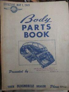 1949 Oldsmobile Body Parts Catalog