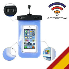 FUNDA WATERPROOF RESISTE AGUA PARA SMARTPHONE MOVIL MP3 PISCINA SUMERGIBLE PLAYA