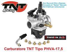 1010 - carburatore TNT tipo Phva-17 5 6 getti Starter per Piaggio NRG Mc2 50
