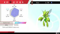 Pokemon Sword & Shield - Ultra Shiny Scizor - 6IV Isle of Armor