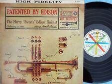 Harry Sweets Edison Quintet ORIG OZ LP Patented by Edison VG+ '60 MONO Jazz