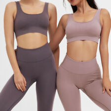 Women Seamless Yoga Set Fitness Sports Suits Gym Clothing sports bra and Legging
