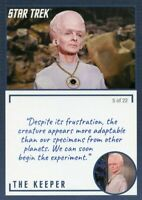 Star Trek TOS Archives & Inscriptions card #11 the Keeper Variation 5 out of 22