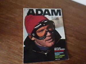 Magazine ADAM La Revue de l'Homme Nr 289 (Mars 1964) Mode Fashion Lifestyle