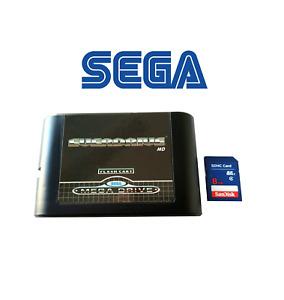 Everdrive Sega Megadrive Genesis 32X Flash Cart +8Gb Sd Card Mega Drive
