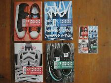 Sneaker Freaker Magazin Magazine German Issue 1 / 4 Cover & Unused + Karte Card