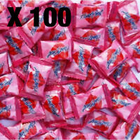 Heartbeat Candy x 100 Pieces | Lolly Candy Love Pink Candies Lollies Hart Pink