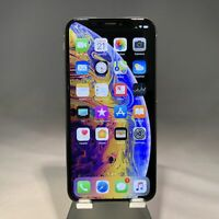 Apple iPhone XS 256GB Silver Verizon Unlocked Good Condition