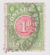(BNB-90) 1902 NZ 1d red &green postage dues (C)