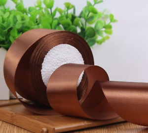 Gift Wrapping Satin Ribbon Yards Roll Wedding Party Christmas Craft Decoration