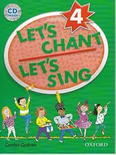 Oxford LET'S CHANT LET'S SING 4 / CAROLYN GRAHAM with CD SONGS for CHILDREN @New