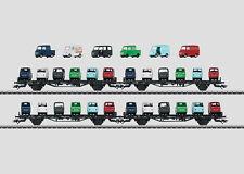 Märklin MHI Autotransportwagen-set Goggo DB 45099
