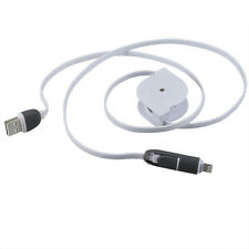 Retractable Micro Usb Cable Charger Cables Data Cable For  iPhone5 5s 6  Samsung