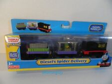 Thomas Train Friends Take N Play DIESEL'S SPIDER DELIVERY 3 Car set Fisher Price
