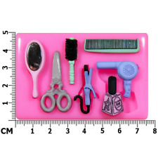 Hairdresser Beauty Salon Silicone Mould by Fairie Blessings