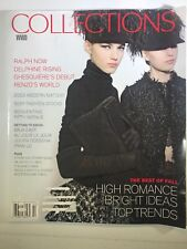 WWD Collections Magazine 2014 Fashion Dior Lanvin's High Hats Cover