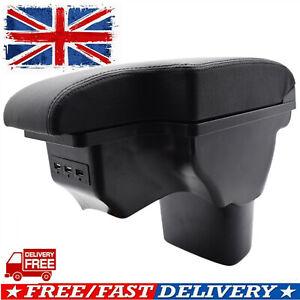 Armrest Compartment Box Storage For Nissan Juke 2011-2019 USB Center Console